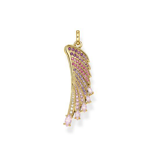 colgante alas colibrí multicolor oro de la colección Glam & Soul en la tienda online de THOMAS SABO
