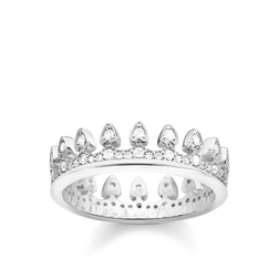 "ring ""crown"" from the Glam & Soul collection in the THOMAS SABO online store"