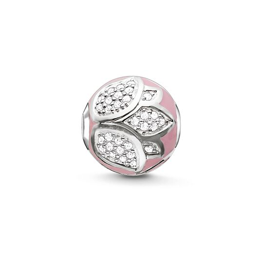Bead fleur de lotus rose de la collection Karma Beads dans la boutique en ligne de THOMAS SABO