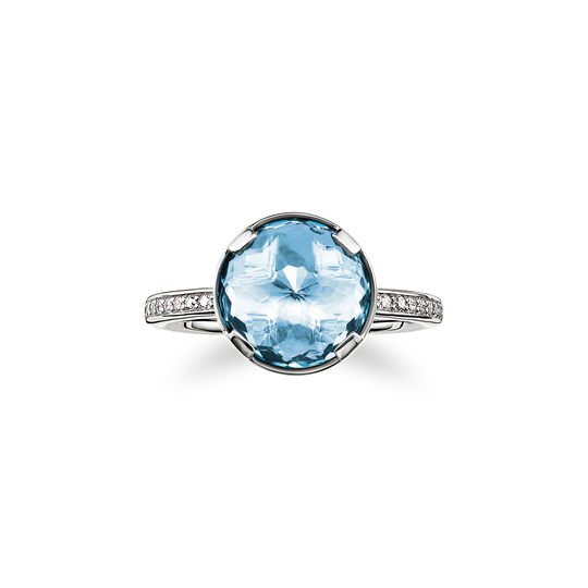 solitair ring throat chakra from the Chakras collection in the THOMAS SABO online store