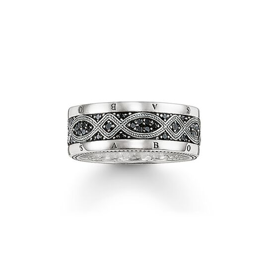 band ring love knot from the  collection in the THOMAS SABO online store