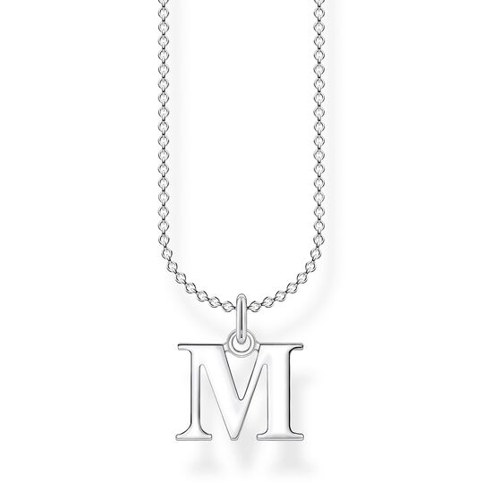 Necklace letter M from the Charming Collection collection in the THOMAS SABO online store