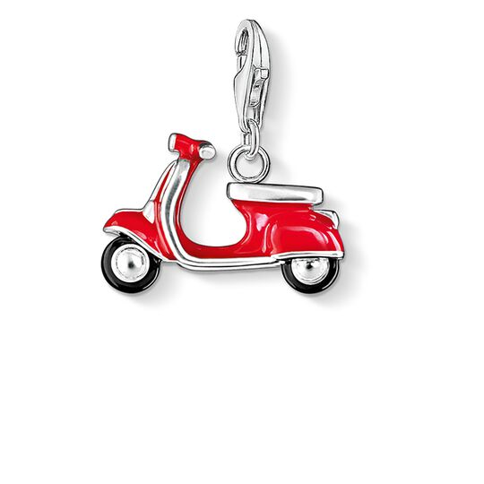 Charm pendant red scooter from the Charm Club collection in the THOMAS SABO online store