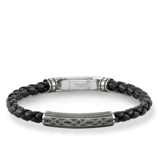 bracelet cuir Love Knot de la collection Rebel at heart dans la boutique en ligne de THOMAS SABO