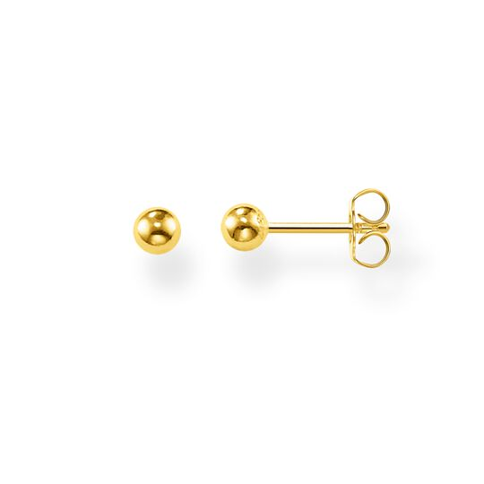 ear studs Golden bead from the Glam & Soul collection in the THOMAS SABO online store