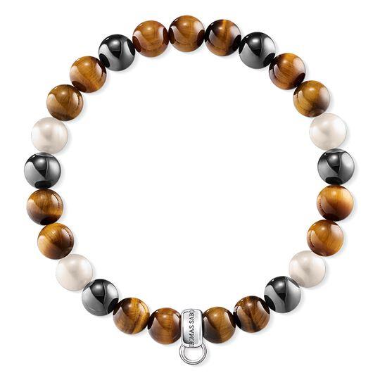 """Charm-Armband """"Braun, Grau, Weiß"""" aus der  Kollektion im Online Shop von THOMAS SABO"""