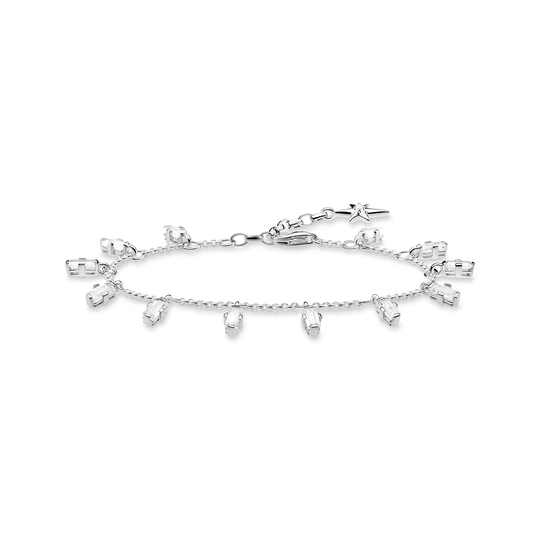 bracelet Angular stones with baguette cut from the Glam & Soul collection in the THOMAS SABO online store