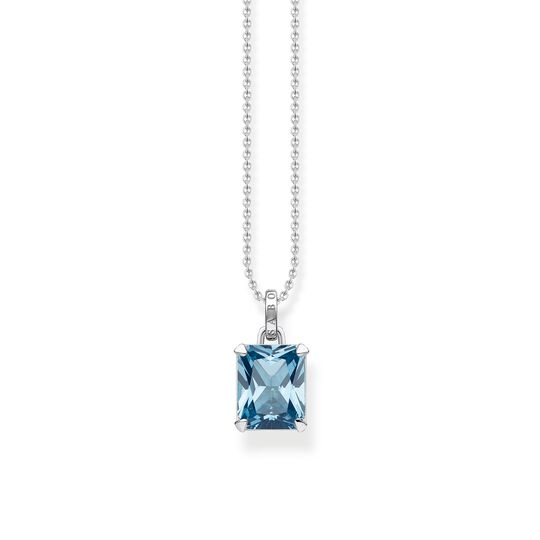 necklace blue stone from the Glam & Soul collection in the THOMAS SABO online store