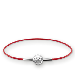 """bracelet for Beads """"red"""" from the Karma Beads collection in the THOMAS SABO online store"""