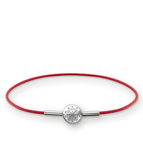 "bracelet for Beads ""red"" from the Karma Beads collection in the THOMAS SABO online store"
