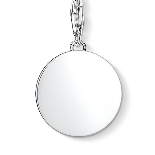 """ciondolo Charm """"medaglia angelo custode"""" from the  collection in the THOMAS SABO online store"""