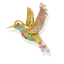 pendentif colibri multicolore or de la collection Glam & Soul dans la boutique en ligne de THOMAS SABO