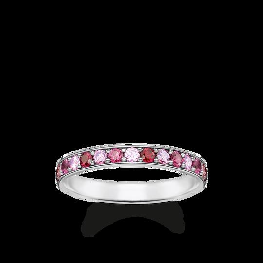 Ring rosa Steine aus der Glam & Soul Kollektion im Online Shop von THOMAS SABO