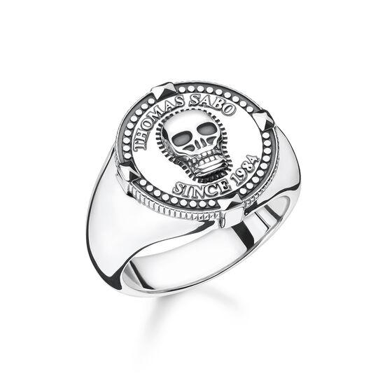 bague tête de mort de la collection Rebel at heart dans la boutique en ligne de THOMAS SABO