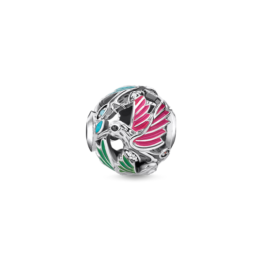bead hummingbird silver from the Karma Beads collection in the THOMAS SABO online store