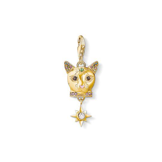 pendentif Charm chat or de la collection Charm Club dans la boutique en ligne de THOMAS SABO