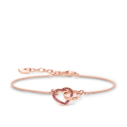 bracelet TOGETHER heart from the Glam & Soul collection in the THOMAS SABO online store