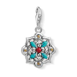 Charm pendant Ethnic lotus flower  from the  collection in the THOMAS SABO online store