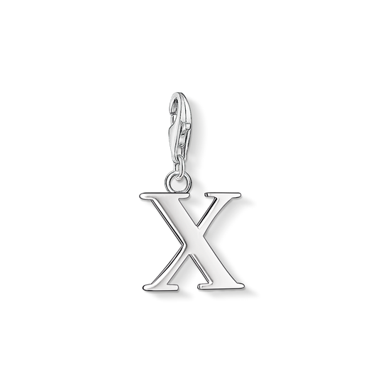 Charm pendant letter X from the Charm Club collection in the THOMAS SABO online store