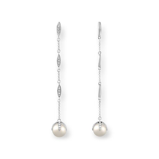 pearl earrings from the  collection in the THOMAS SABO online store