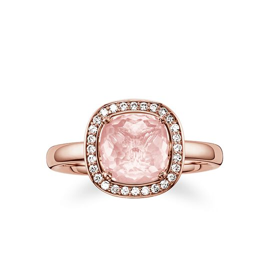 solitaire rose de la collection Glam & Soul dans la boutique en ligne de THOMAS SABO