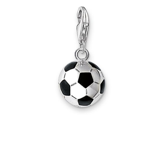 "Charm pendant ""football"" from the  collection in the THOMAS SABO online store"