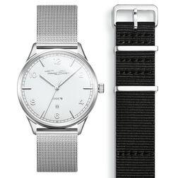 SET CODE TS Reloj blanco & correa negra de la colección  en la tienda online de THOMAS SABO