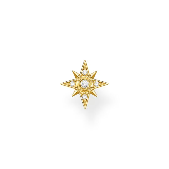 Single ear stud star gold from the Charming Collection collection in the THOMAS SABO online store