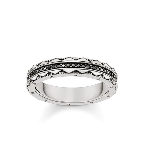 "ring ""hieroglyphs ornamentation"" from the Glam & Soul collection in the THOMAS SABO online store"