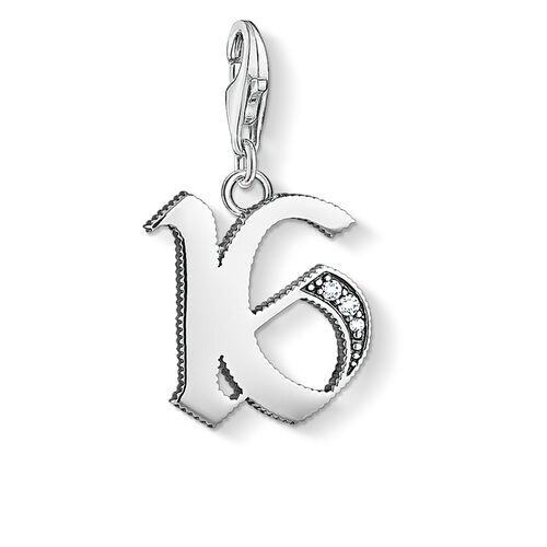 """Charm pendant """"16"""" from the  collection in the THOMAS SABO online store"""