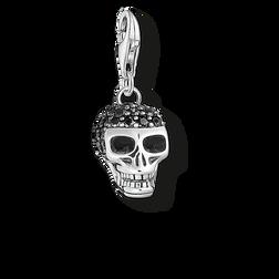 """Charm-Anhänger """"Totenkopf Pavé"""" aus der  Kollektion im Online Shop von THOMAS SABO"""