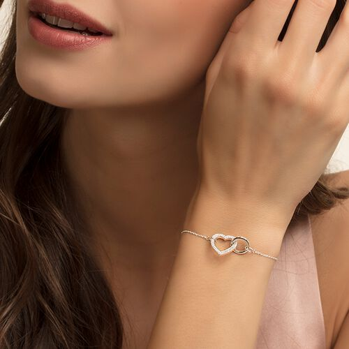 "bracciale ""Cuore TOGETHER grande"" from the Glam & Soul collection in the THOMAS SABO online store"