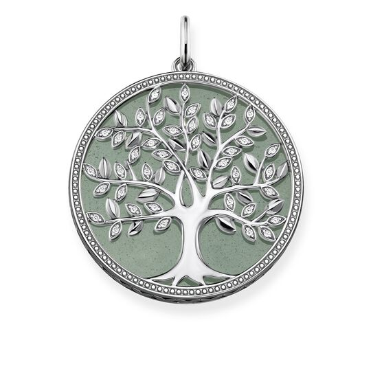 pendant Tree of Love green from the Glam & Soul collection in the THOMAS SABO online store