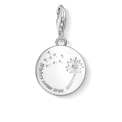 Charm pendant dandelion WISHES COME TRUE from the  collection in the THOMAS SABO online store