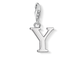 Charm pendant letter Y from the Charm Club Collection collection in the THOMAS SABO online store