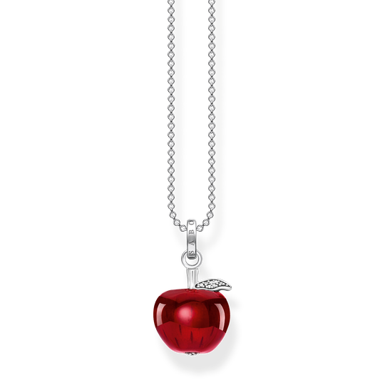 Necklace apple red from the Glam & Soul collection in the THOMAS SABO online store