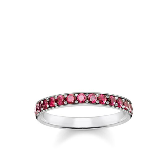 Ring red stones from the Glam & Soul collection in the THOMAS SABO online store