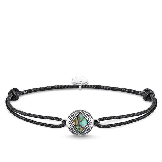 Bracelet Little Secret Coin Mother of Pearl Abalone from the Rebel at heart collection in the THOMAS SABO online store