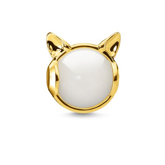 Bead Cat's ears, gold from the Karma Beads collection in the THOMAS SABO online store