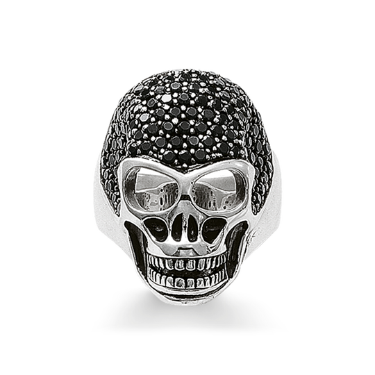 ring skull pavé from the Rebel at heart collection in the THOMAS SABO online store