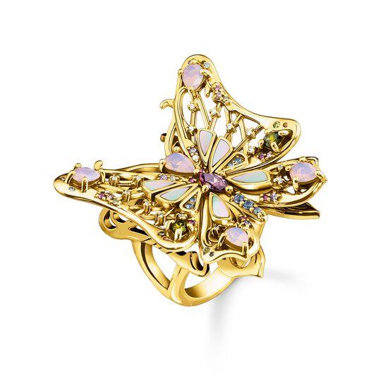 Ring Schmetterling gold aus der  Kollektion im Online Shop von THOMAS SABO