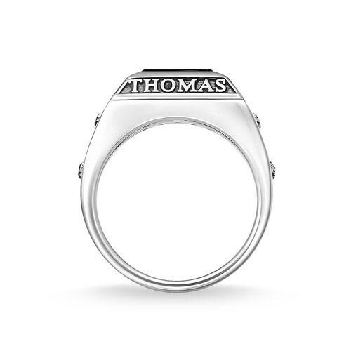 "ring ""College Ring"" from the Rebel at heart collection in the THOMAS SABO online store"