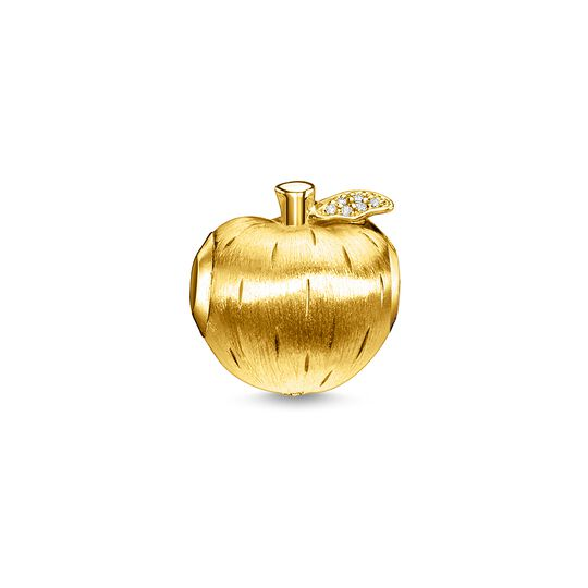 Bead apple gold from the  collection in the THOMAS SABO online store