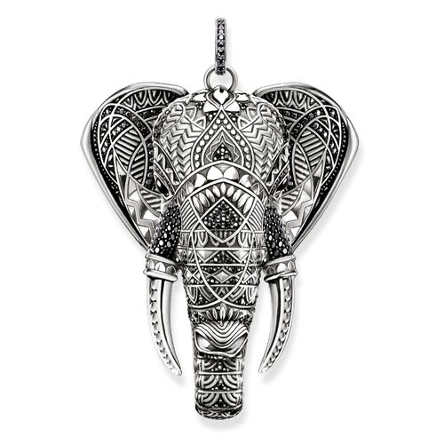 "pendant ""elephant"" from the Glam & Soul collection in the THOMAS SABO online store"