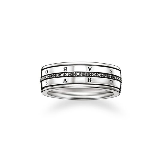 ring eternity black diamond from the  collection in the THOMAS SABO online store