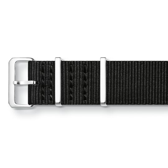 Watch strap CODE TS Nato black from the  collection in the THOMAS SABO online store