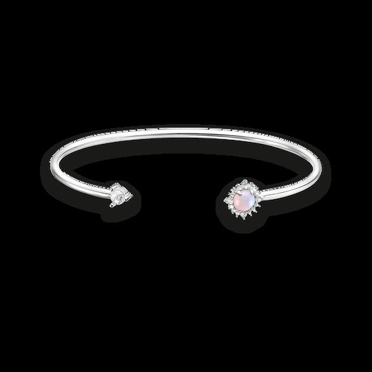 Armreif Pfeil Opal-Imitation Rosa schimmernd aus der Charming Collection Kollektion im Online Shop von THOMAS SABO