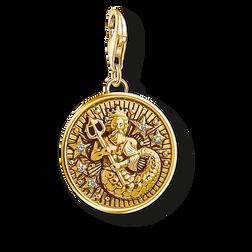 Thomas Sabo Charm pendant letter E gold yellow gold-coloured 1611-414-39 Thomas Sabo