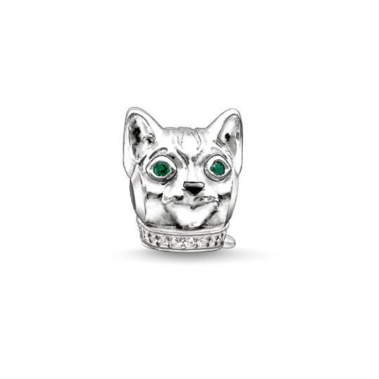 Bead cat from the Karma Beads collection in the THOMAS SABO online store