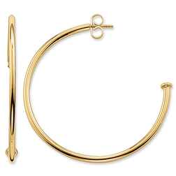 hoop earrings from the Karma Beads collection in the THOMAS SABO online store